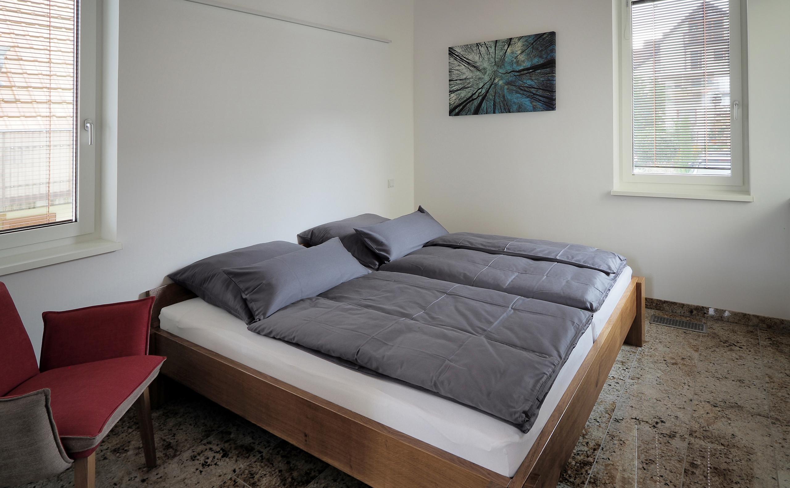 Ferienhaus-A-Schlafzimmer